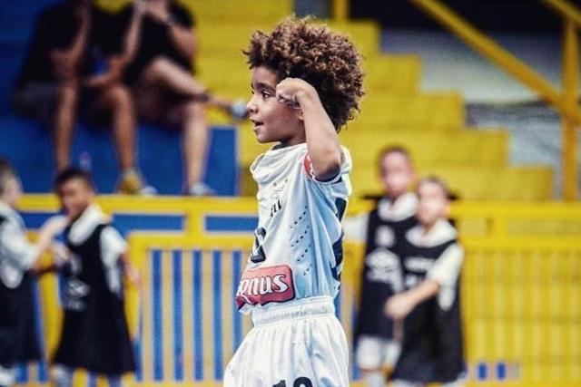 Kauan Basile se convierte en el futbolista más joven en firmar con Nike