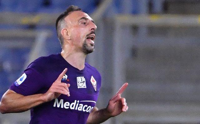 Ribery marcó un golazo en el empate de la Fiorentina contra el Torino