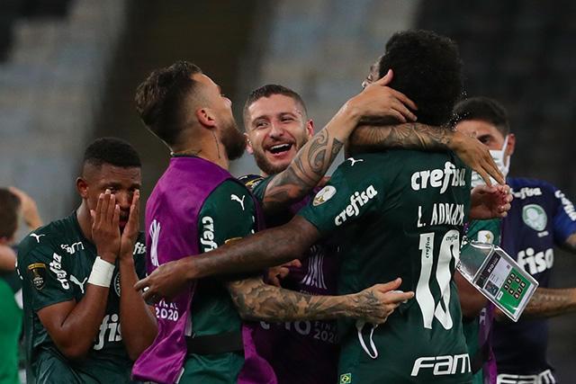 Palmeiras se corona en la Libertadores