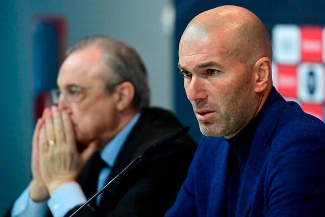 Zidane se recuperó del Covid-19, pero Florentino dio positivo en las últimas pruebas