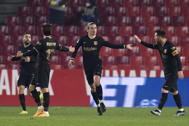Griezmann guía al Barcelona a las semifinales de la Copa del Rey