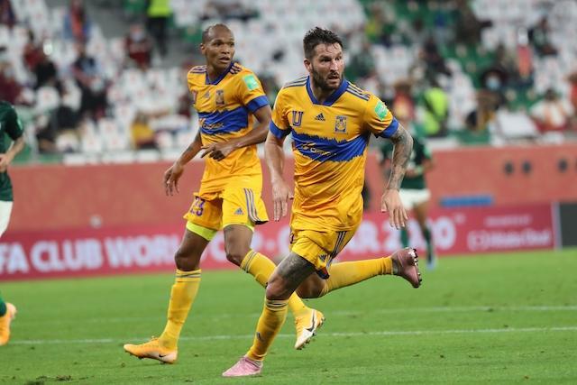 Gignac puso el 1-0 sobre el Palmeiras