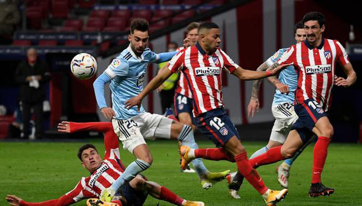 Atlético de Madrid 2-2 Celta de Vigo
