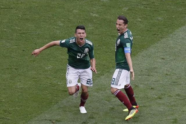 Los mexicanos han hecho sufrir a los alemanes