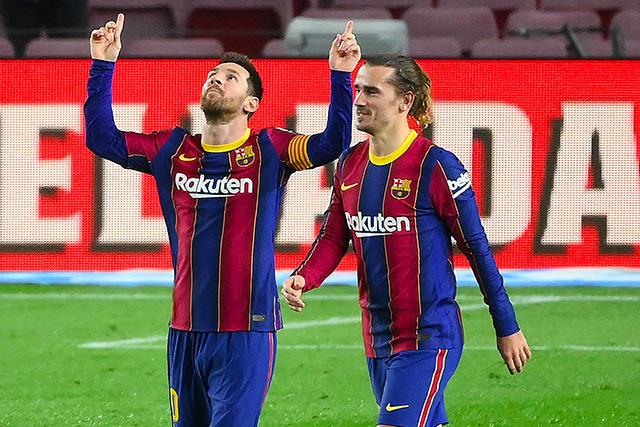 Barcelona golea 5-1 al Alavés