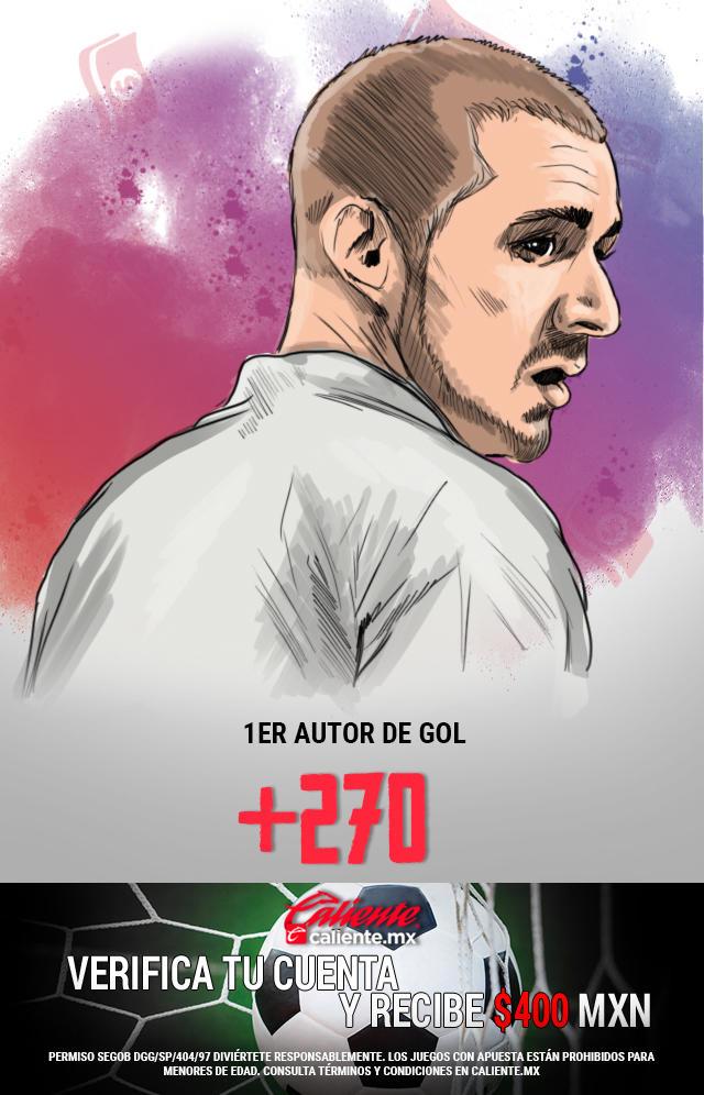 Benzema: cinco goles en los últimos cuatro partidos contra el Valencia.