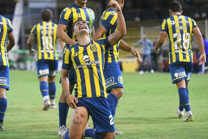 Debut goleador de Luca Martínez con Rosario Central
