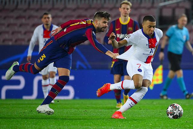Los memes se desataron con la goleada 1-4 del PSG al Barcelona