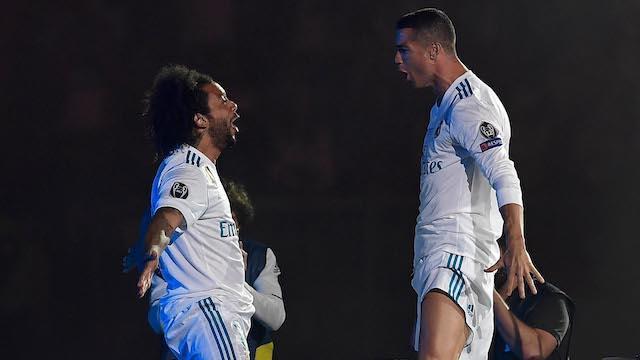 Cristiano y Marcelo fueron grandes compañeros en el Real Madrid