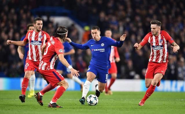 Chelsea eliminó al Atlético en una edición de Champions League