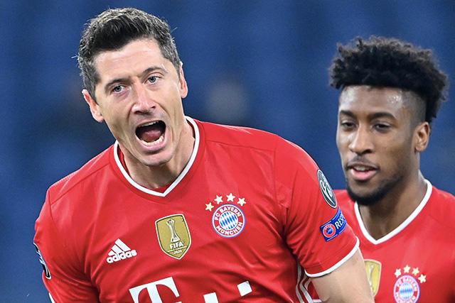 Bayern goleó 1-4 al Lazio