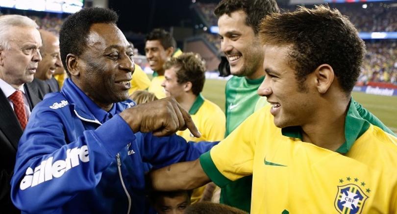 Neymar y Pelé