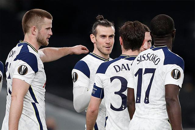 Tottenham goleó 8-1 en el global al Wolfsberg para ser el primer clasificado a octavos