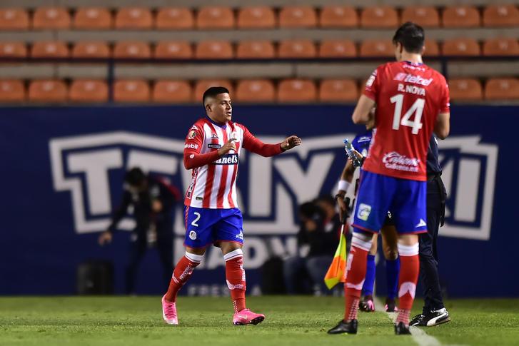 Juan David Castro abre el marcador en el San Luis vs Tigres