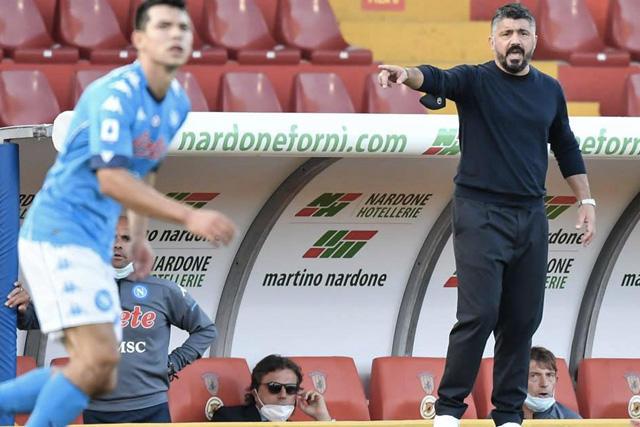 Gennaro Gattuso podría dejar el banquillo del Napoli la próxima temporada