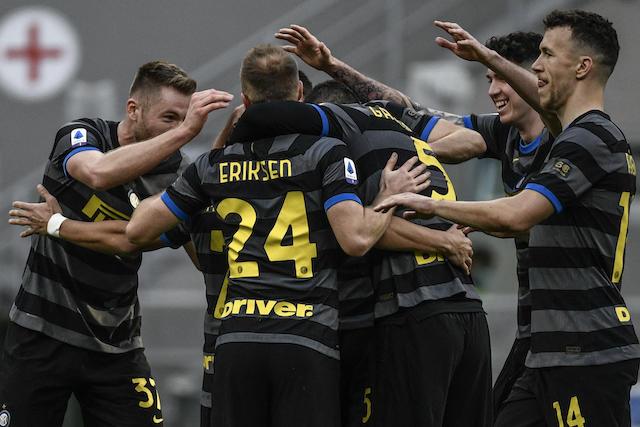 Inter es líder de la Serie A