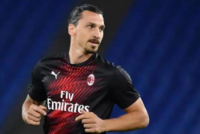 Zlatan Ibrahimovic podría ser baja para el Milan durante un mes