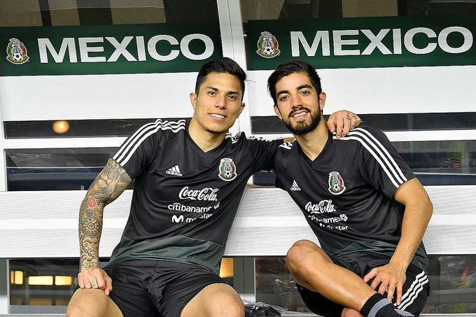 Carlos Salcedo y Rodolfo Pizarro