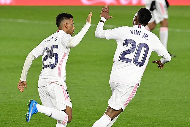Vinicius rescata el empata para el Real Madrid ante la Real Sociedad