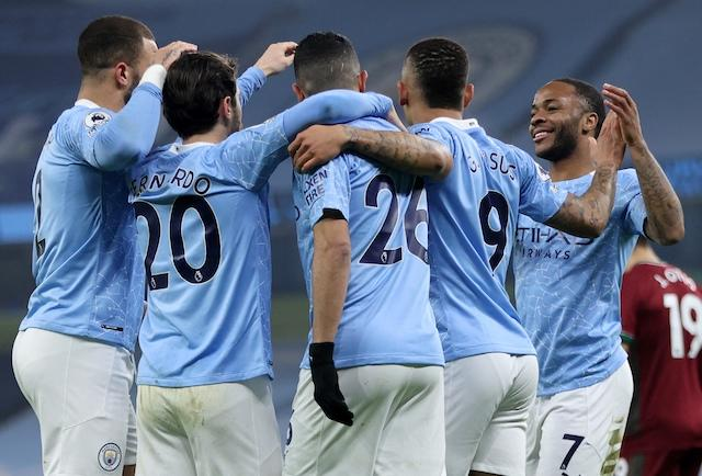 City y Guardiola vencieron sin problemas a los Wolves