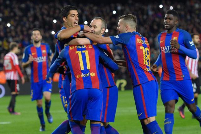 Barcelona ya sabe lo que es remontar en la Copa del Rey