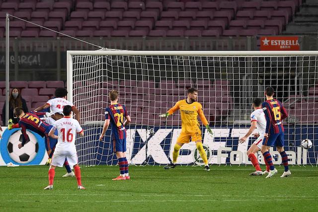 Piqué hizo el gol del empate al minuto 93