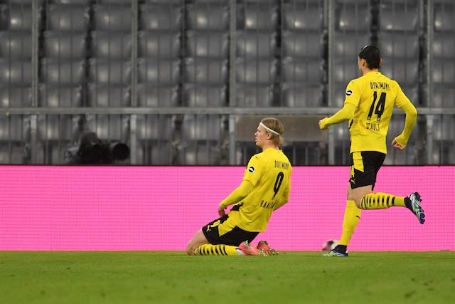 Haaland marca dos goles y le da la ventaja temporal al Dortmund