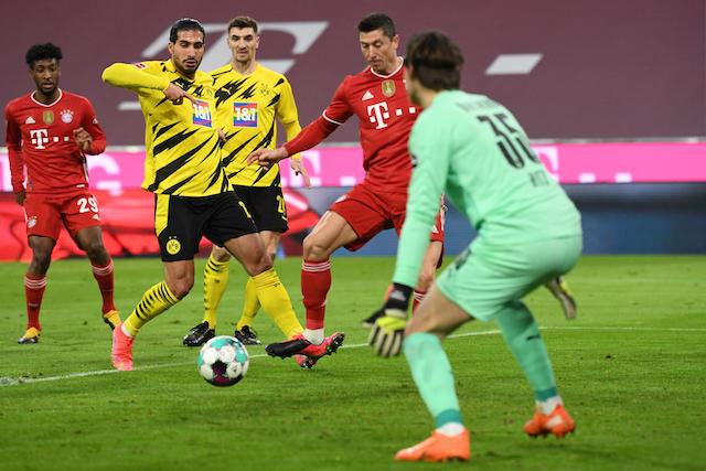 Lewandowski comandó la voltereta