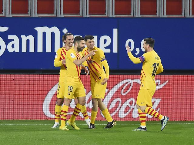 Jordi Alba fue uno de los autores de los goles del Barcelona