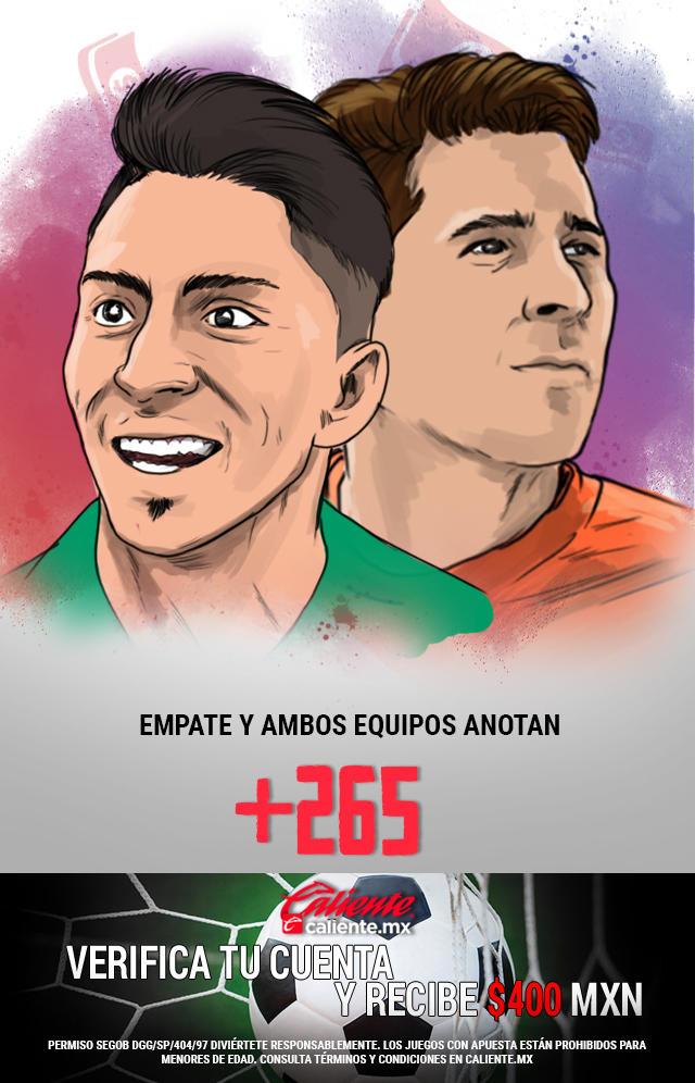 Si crees que el partido acaba en empate y ambos equipos anotan, apuesta en Caliente y ¡llévate mucho dinero!