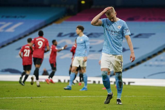 City pierde racha de partidos invictos ante su odiado rival