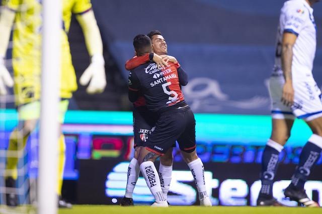 Un gol de Rocha fue suficiente para darle la victoria al Atlas
