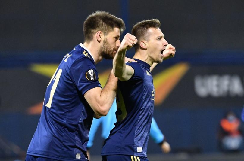 El hat-trick de Orsic que eliminó al Tottenham de la Europa League