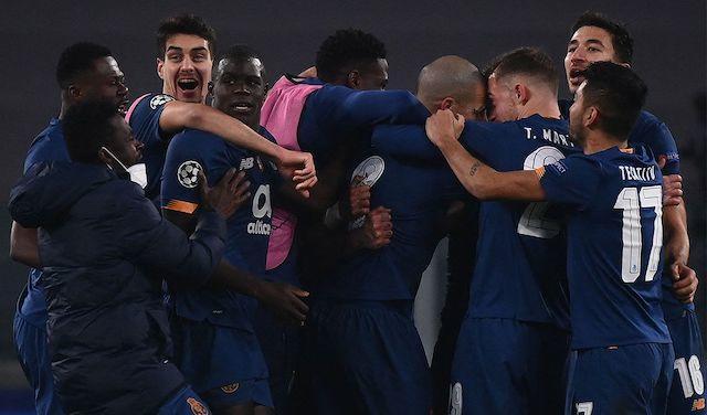 La reacción del equipo al derrotar a la Juve