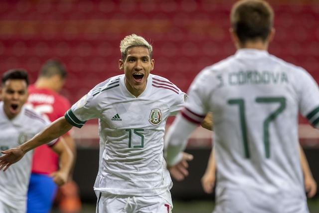 Antuna fue el autor del primer gol de México