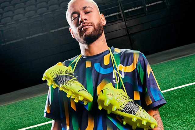 Neymar con los Puma Future Z