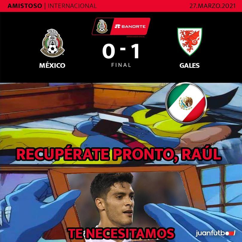 Los memes que dejó la derrota de México ante Gales