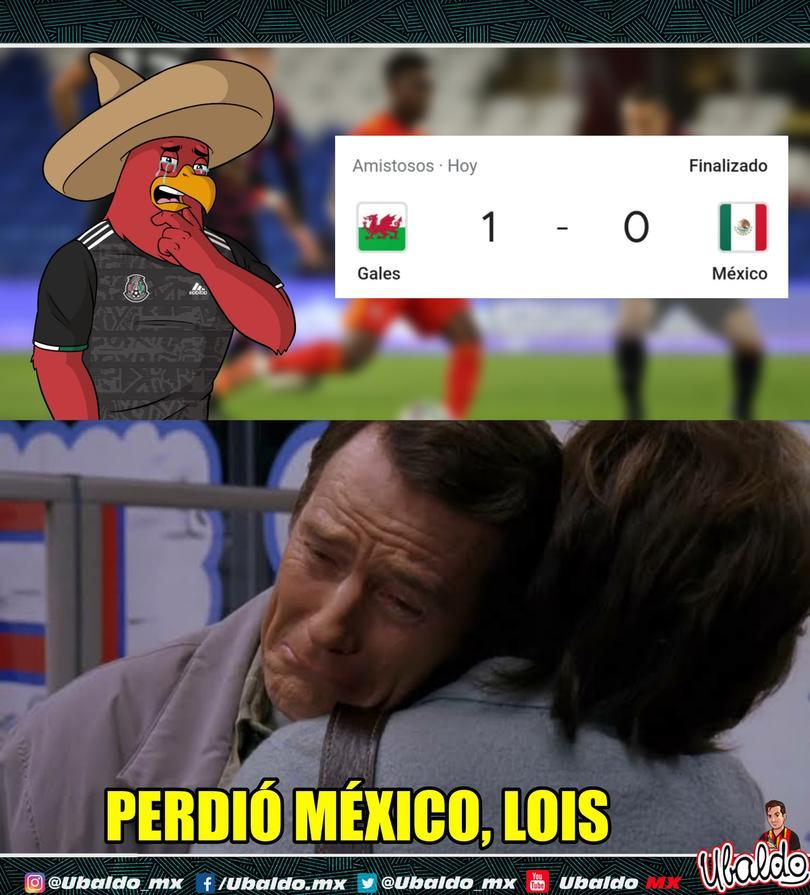 Los memes de la derrota de México ante Gales