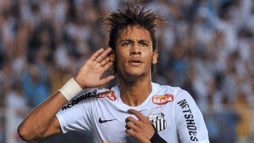 Neymar en Santos FC