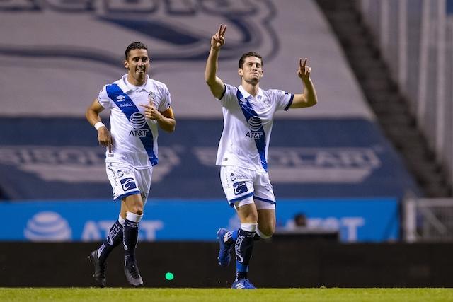 Ormeño festeja su gol ante Mazatlán