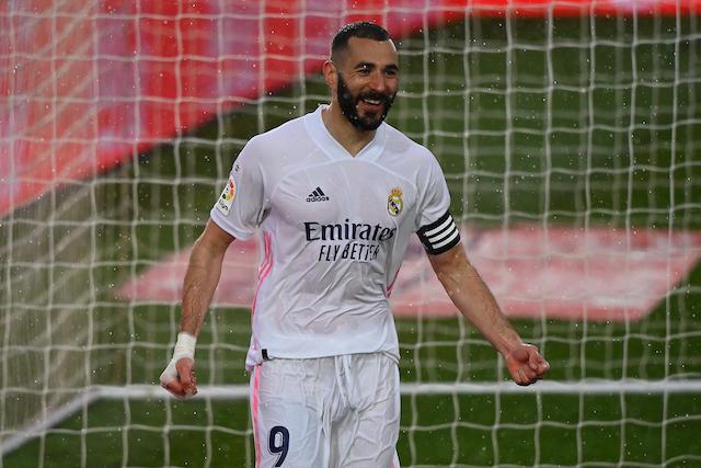 Benzema sigue encendido y marcó el segundo gol del partido