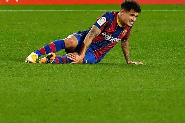 Coutinho se perdería el resto de la temporada por nueva operación de la rodilla