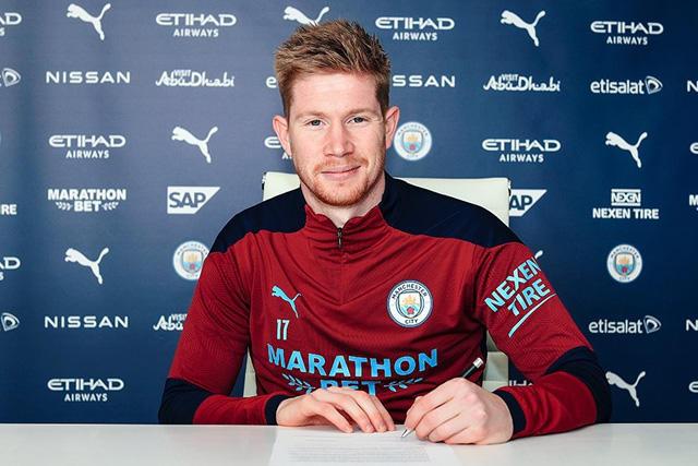 Kevin De Bruyne renueva su contrato con el Manchester City