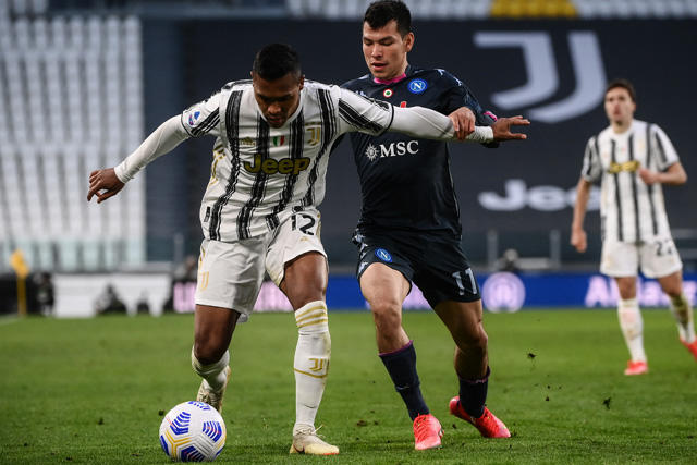 Napoli cayó 2-1 ante la Juventus en juego pendiente de la J3 de la Serie A