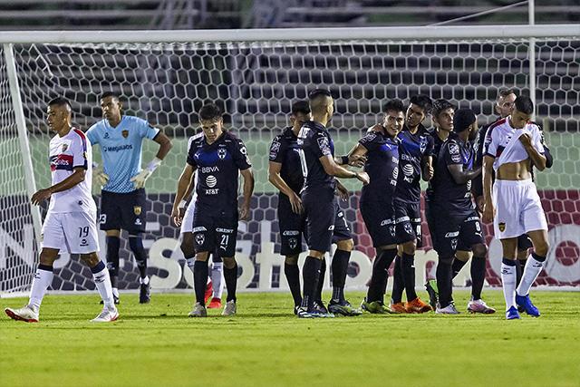 Rayados venció sin complicaciones a Pantoja