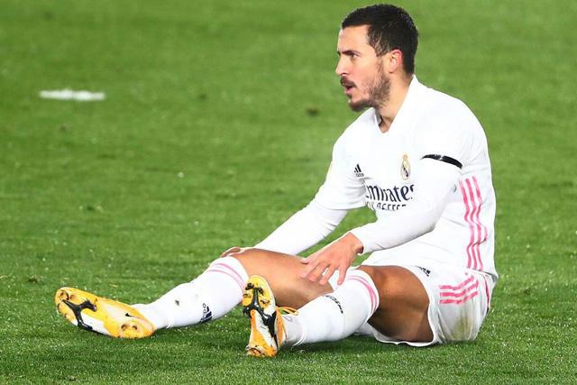 Eden Hazard se perderá el cuarto Clásico desde que llegó al Real Madrid