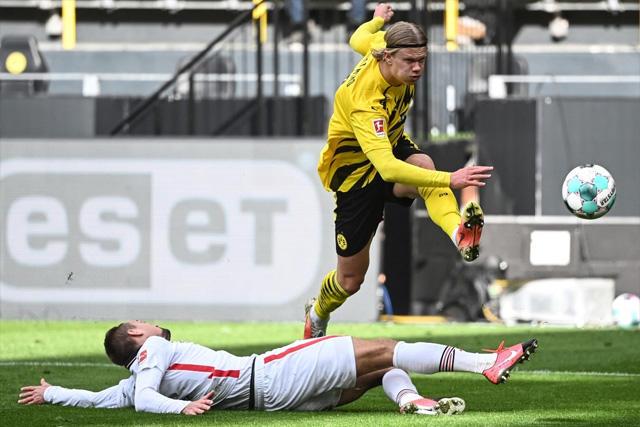 Erling Haaland rompe récord de velocidad en la Bundesliga