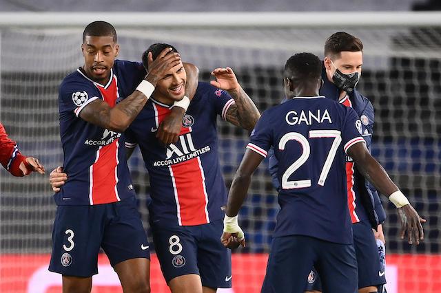 PSG celebra el pase a semifinales