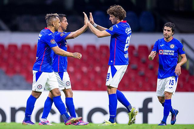 Cruz Azul golea al Arcahaie en los octavos de la Concachampions