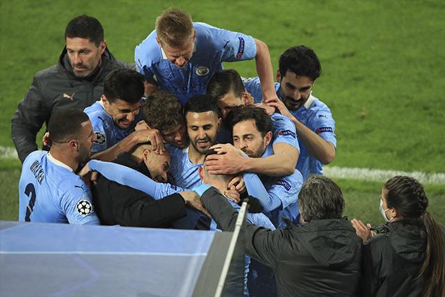 Manchester City y Pep Guardiola llegan juntos a semis por primera vez